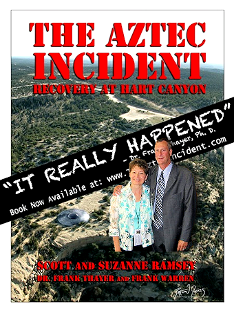The Aztec Incident (Front Cover with Scott & Suzanne)