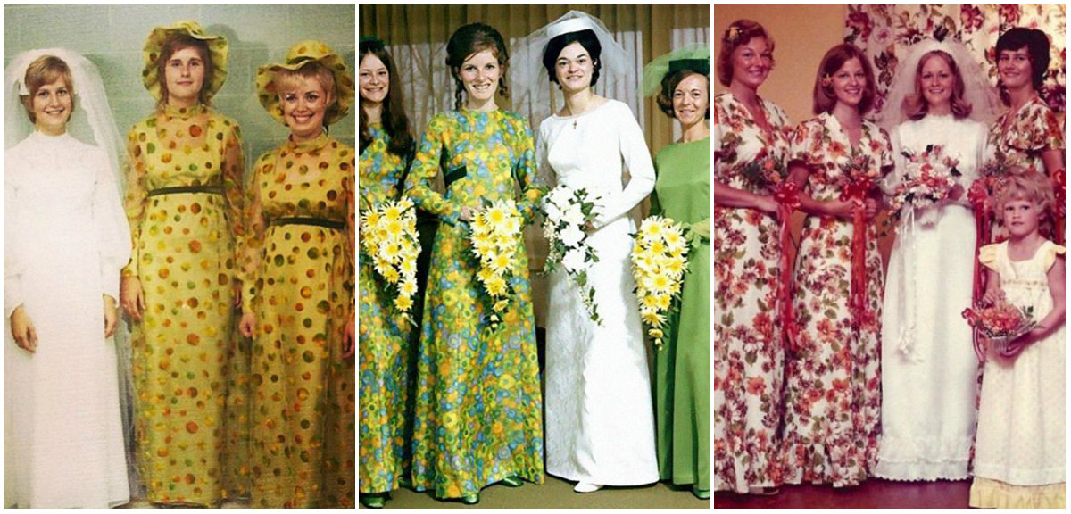 Ridiculous Vintage Bridesmaid Dresses That Didnt Stand The Test Of