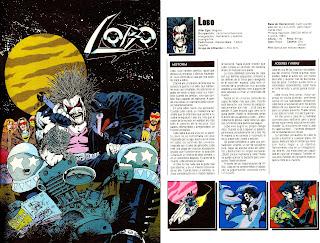 Lobo Ficha DC Comics