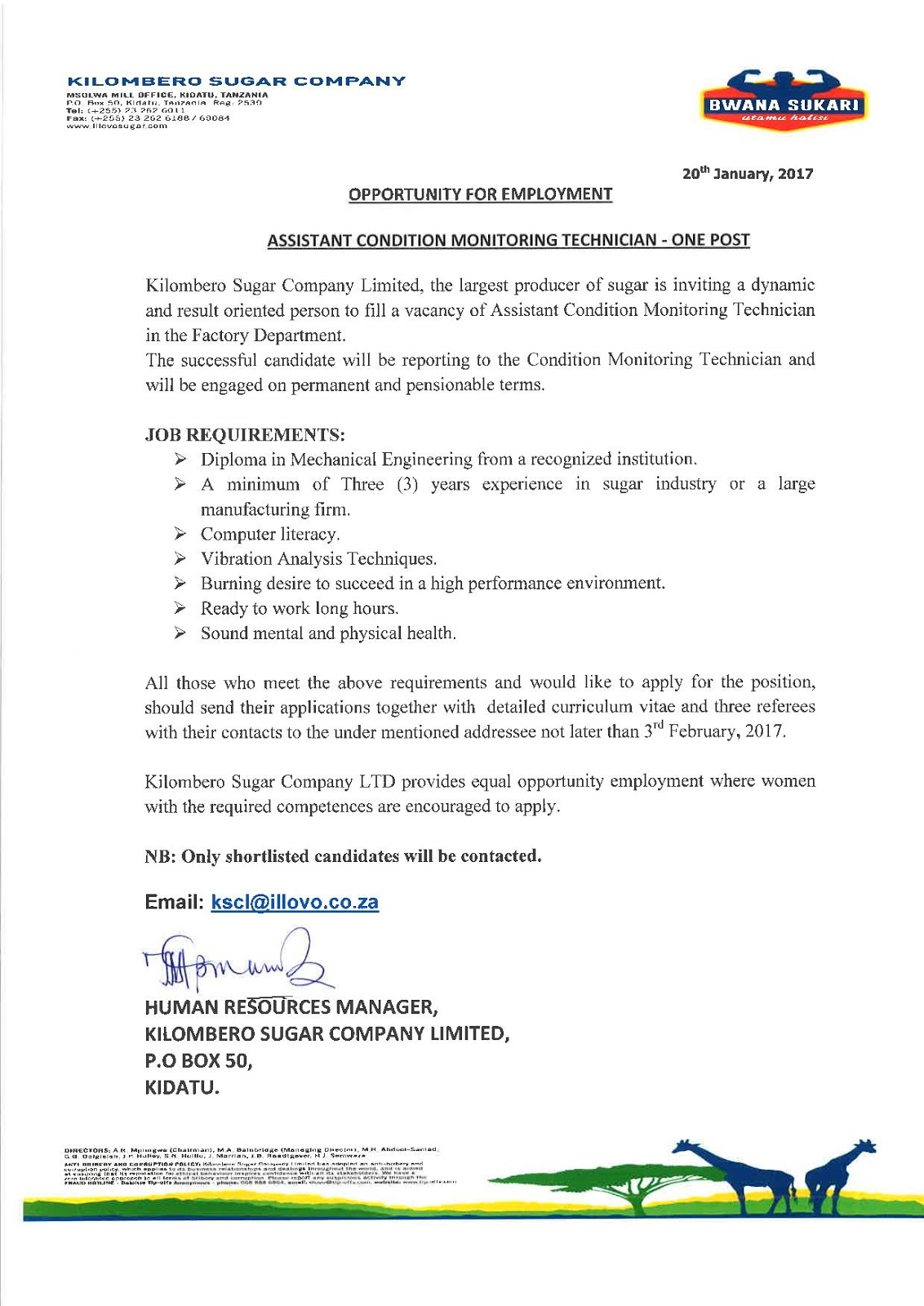 cover letter examples maintenance telecom technician