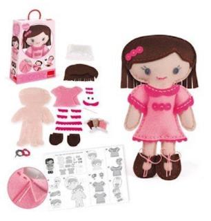 Kit muñeca Camille rosa