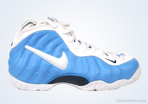 da4724c1e16 Classics Revisited Nike Air Foamposite Pro – University Blue – White