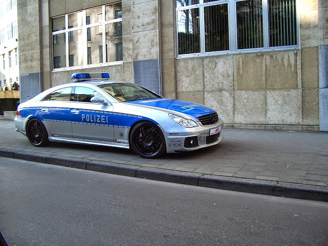 mercedes w219 cls brabus rocket police