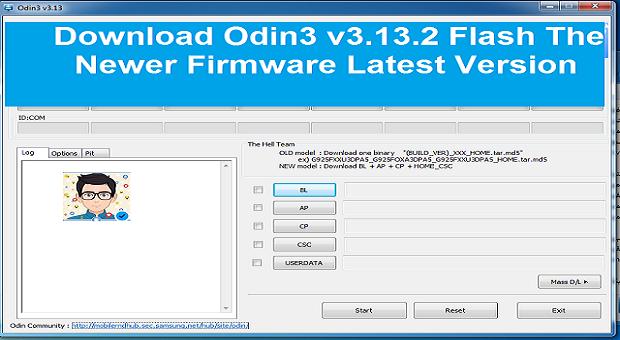 تحميل جميع إصدارات برنامج سامسونج أودين odin3 samsung للكمبيوتر