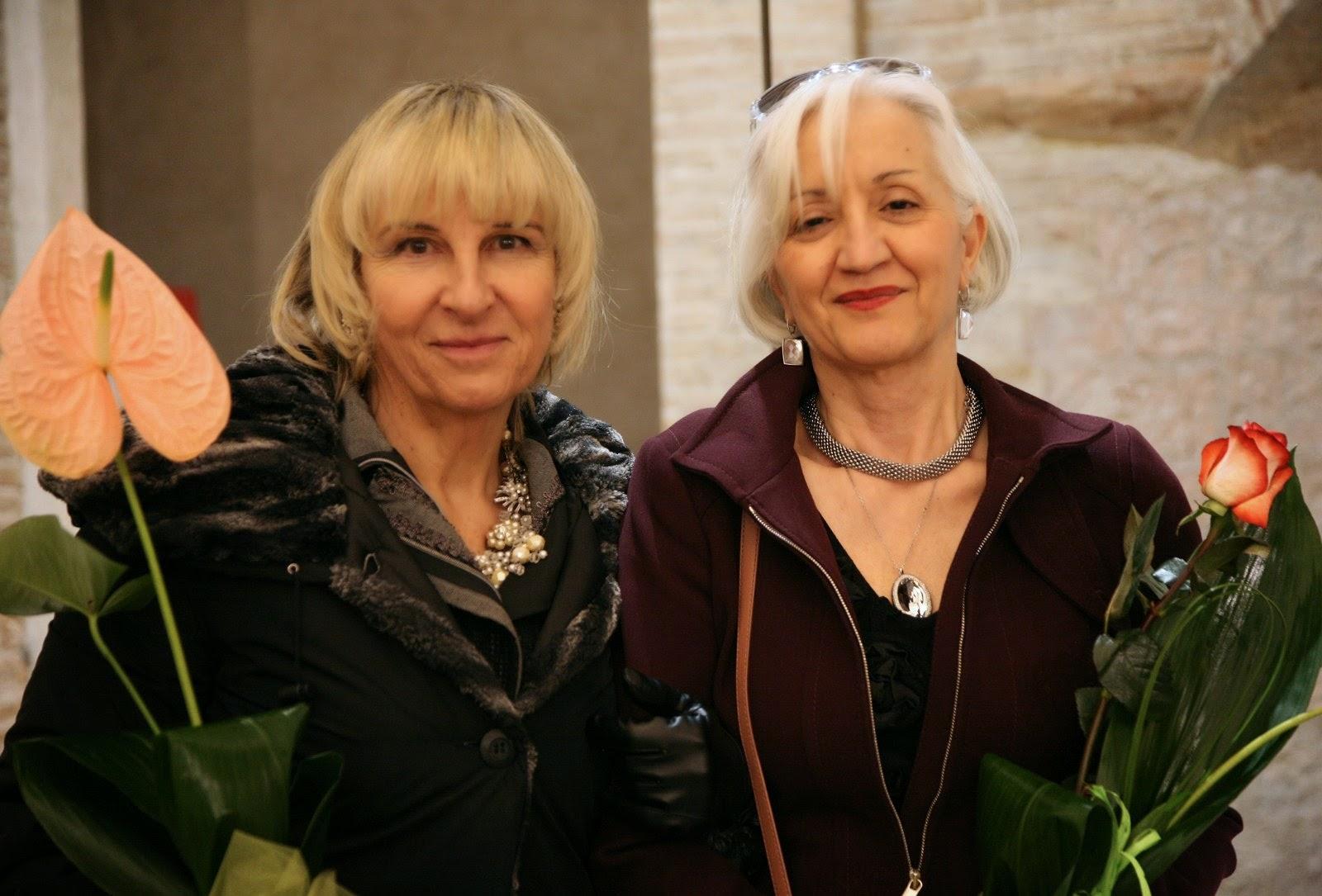 Maria Stefania Fuso con Rita Castigli