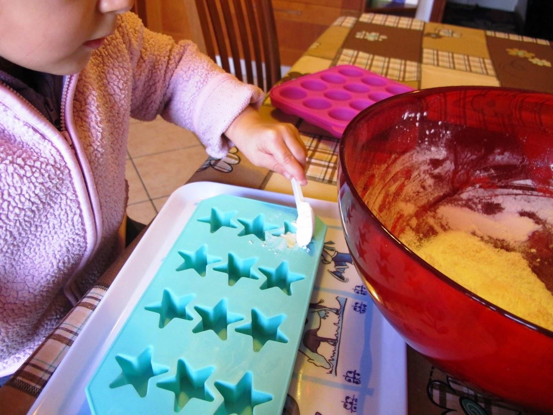 Stelline Frizzanti da bagno per bambini