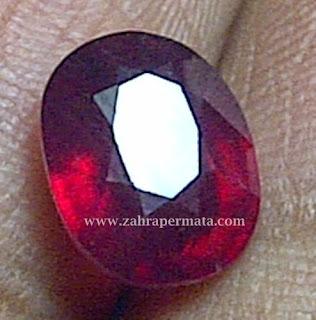 Batu Permata Ruby Pigeon Blood - ZP 351