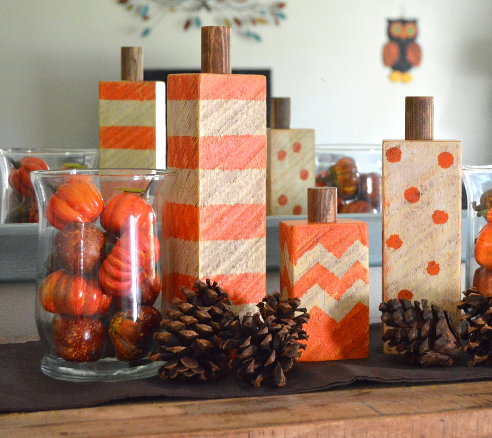 KRUSE'S WORKSHOP: Wood Block Pumpkins