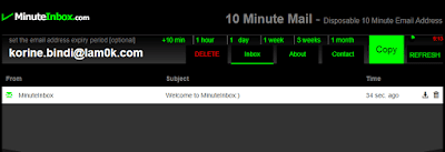 موقع-MinuteInbox