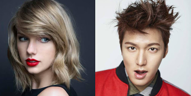 do you will be Taylor Swift and Lee Min in the next item  together