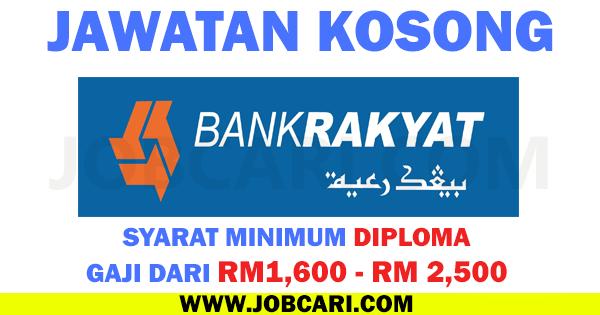 JOBCARI BANK RAKYAT