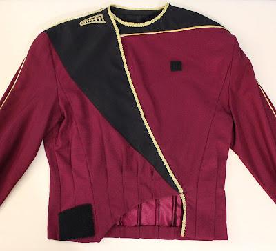 TNG season 1 admiral jacket