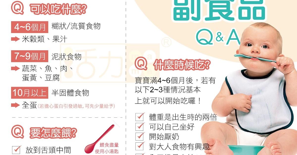 哺乳媽媽加油站: 嬰幼兒副食品添加時機。啟動寶貝的『副食品』攻略