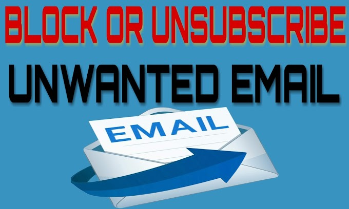 How to Unsubscribe From Unwanted Email In Hindi