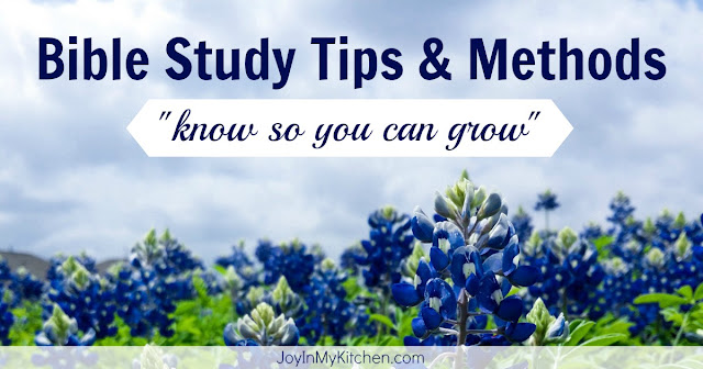 The best bible study tips!