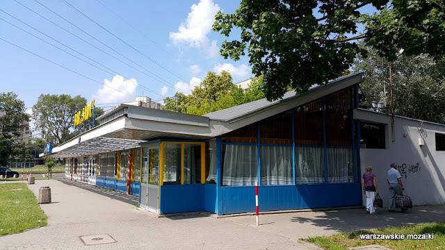 Warszawa Warsaw Żoliborz osiedle Skibniewska sady bloki bar