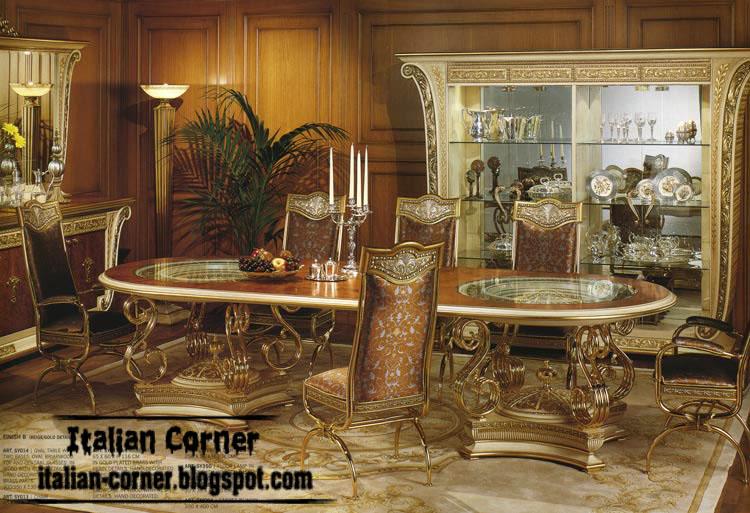 Italian Design Dining Room Furniture