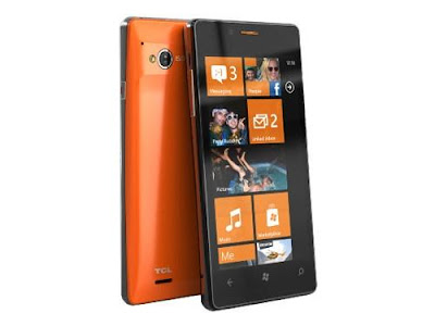 TCL S606, Ponsel Windows Phone Murah Harga Rp. 1 jutaan