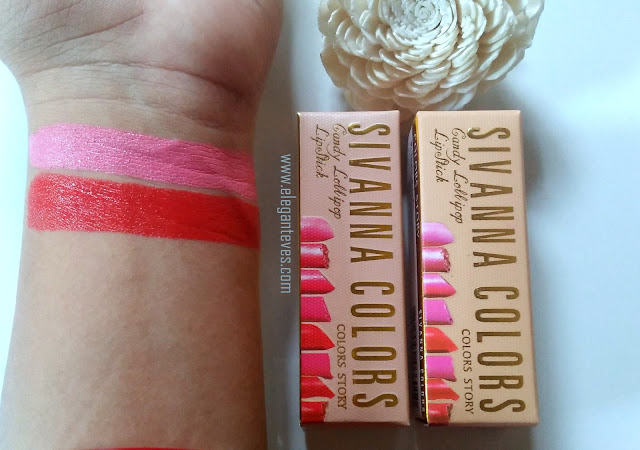 Sivanna Colors Candy Lollipop Lipstick swatch