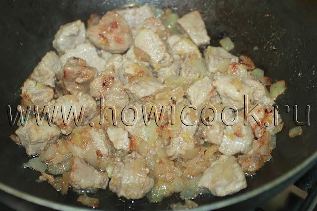 рецепт гуляша из свинины с пошаговыми фото