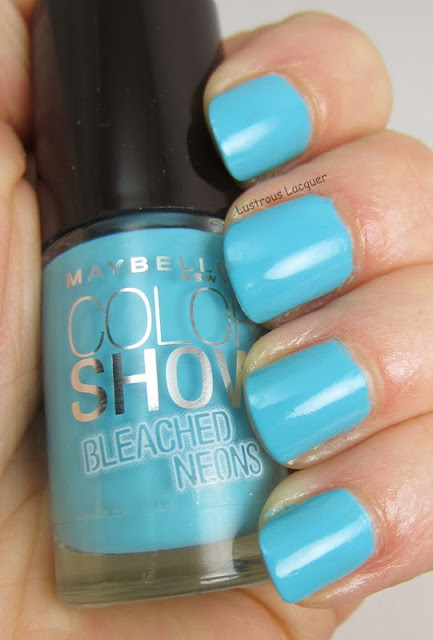 Maybelline Day Glow Teal Bleached Neons Collection