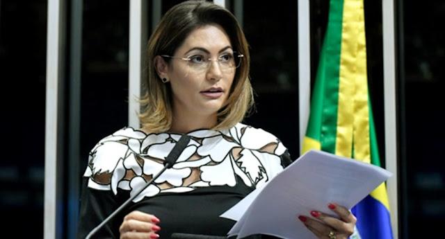 Michele Bolsonaro no Senado Federal, Brasília