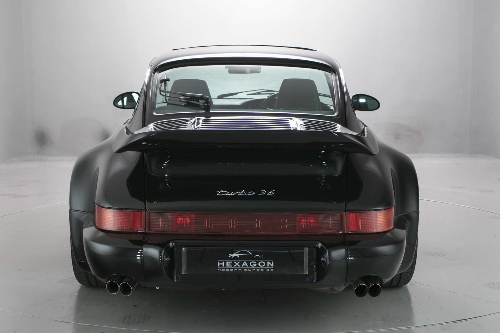 One Of 76 Flatnose Porsche 964 Turbos Goes For Nearly 1