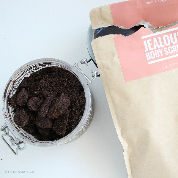 jealous body scrubs, coffee scrub, benefits coffee skin