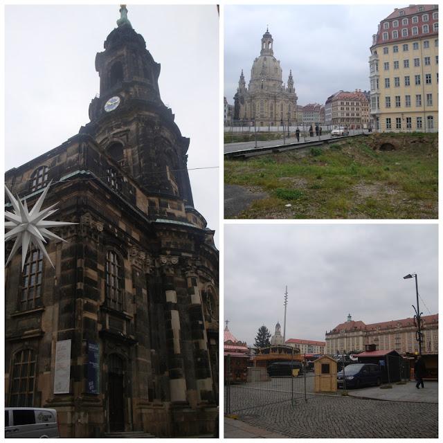 Kreuzkirche, Frauenkirche e Altmarkt, Dresden