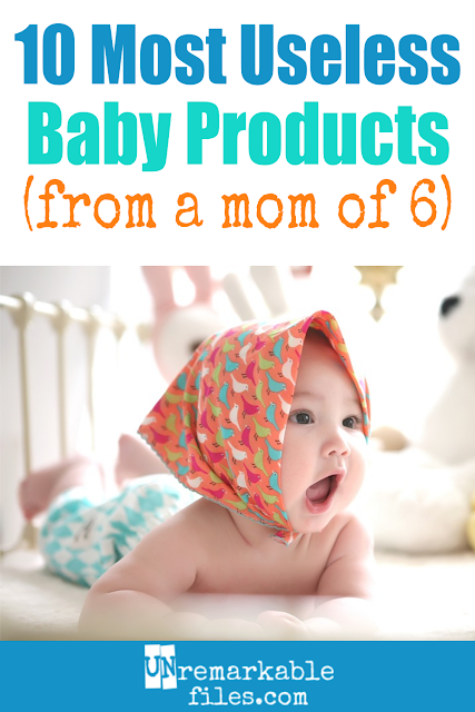 Just because there are entire catalogs and warehouses full of baby stuff doesn't mean you need any of it. These 10 baby products are a waste of time, money, and space. And some of them are really common (just about every parent I know owns #7 but I can't figure out why!) #baby #newborn #babystuff