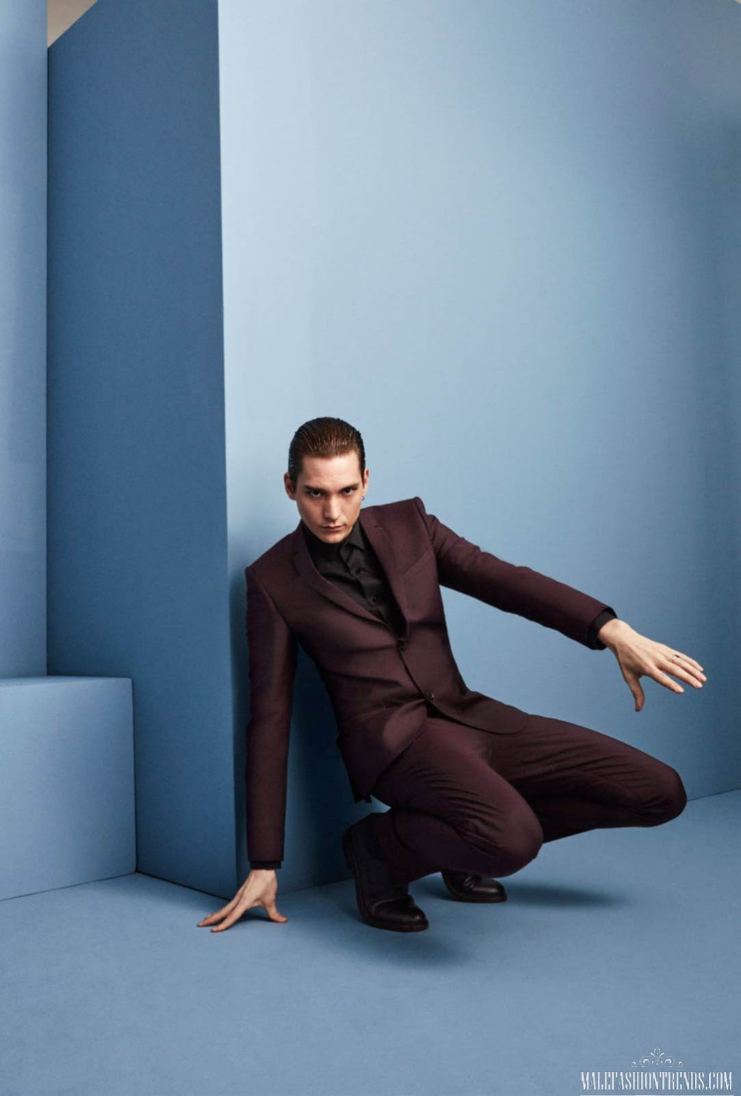 Thomas Azier para GQ Style Francia