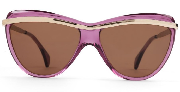 Finest Seven sunglasses: Zero 4 in plum