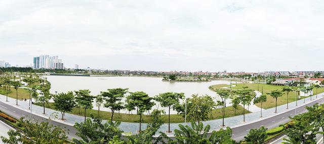Hồ điều hòa tại An Bình City rộng 15 ha