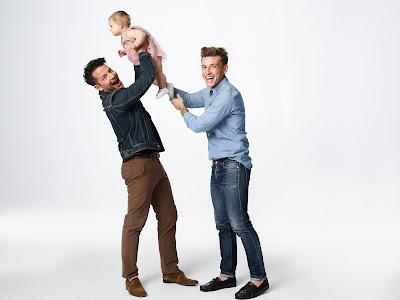 Nate, Jeremiah e Poppy - Divulgação