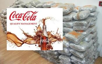 Βρέθηκαν 370 κιλά ΚΟΚΑΙΝΗΣ σε εργοστάσιο της Coca Cola -