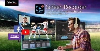 برنامج تسجيل الشاشة والشروحات Cyberlink Screen Recorder أحدث