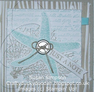 Stampin' Up! Susan Simpson Independent Stampin' Up! Demonstrator, Craftyduckydoodah!, By The Tide, Picture Perfect, Work of Art, Woodgrain TIEF,