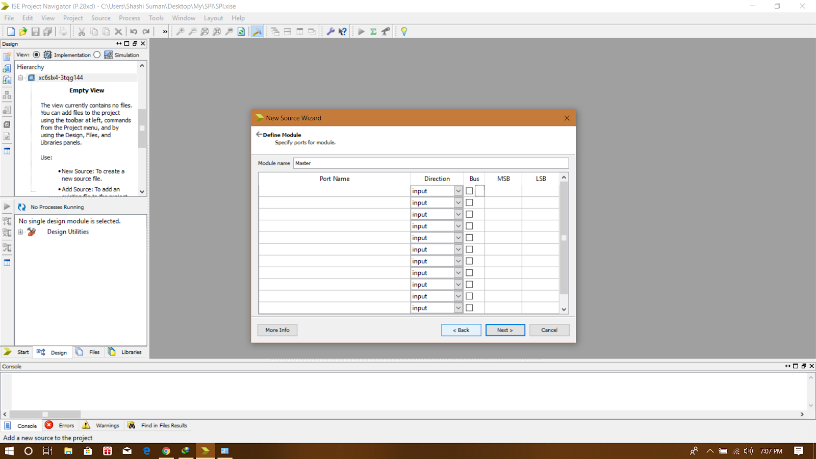 Hello Codings: Verilog simulation in Xilinx