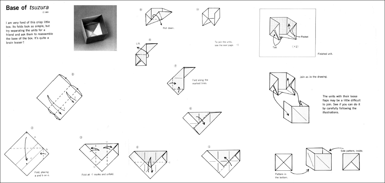 Além dos origamis: Caixas