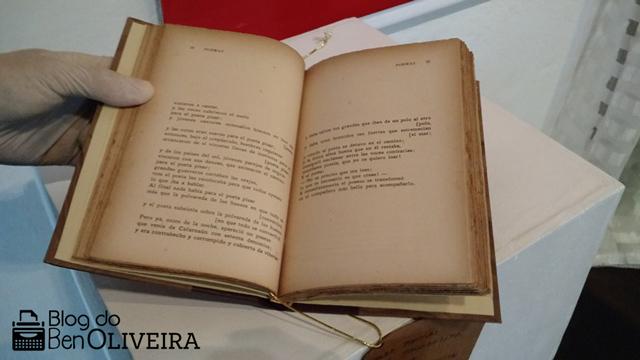 Livro Raro Exposto Blumenau Santa Catarina
