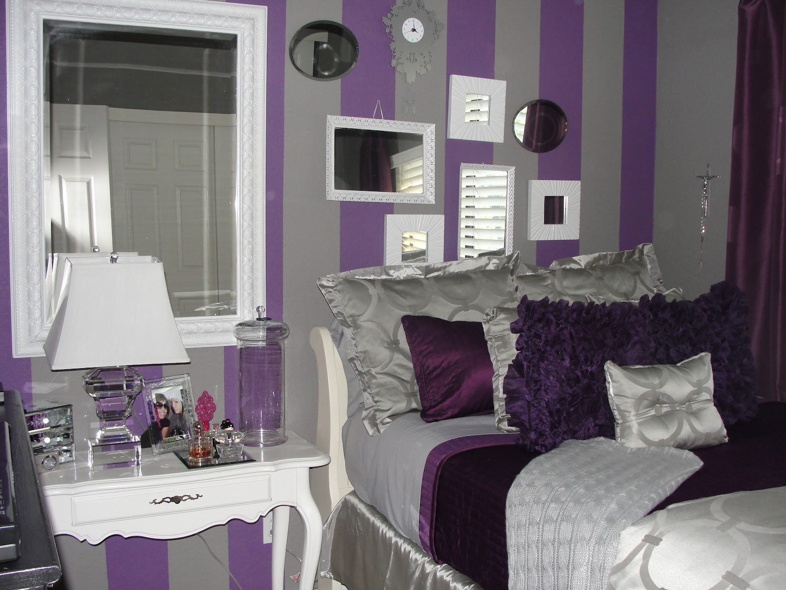 Royal purple bedrooms home design inside - Blue and purple bedroom curtains ...