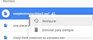 Como Recuperar archivos eliminados Google Drive