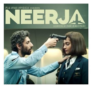 Soonam Kapoor as a Neerja Bhanot