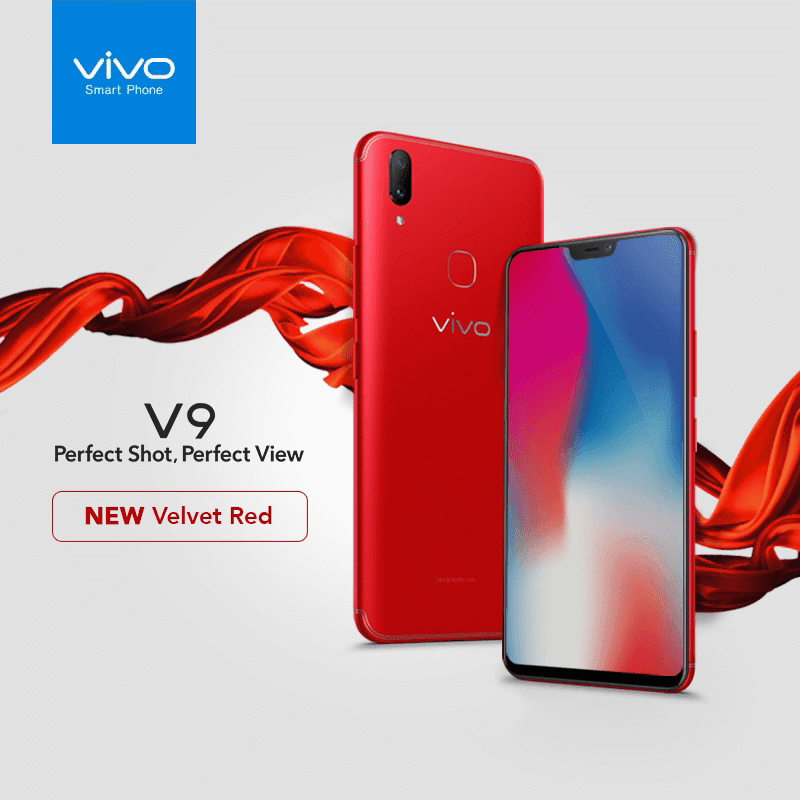 Vivo V9 Velvet Red is now available in the Philippines