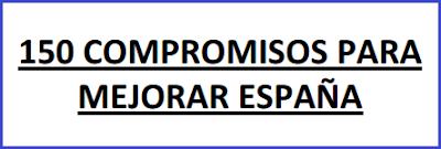 Acuerdo PP Ciudadanos 150 compromisos para mejorar España