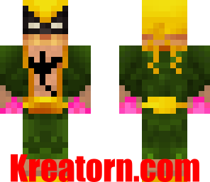 Minecraft Iron Fist Skin
