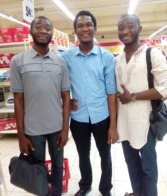 Hafiz and the Stutern twins, Taiwo and Kehinde