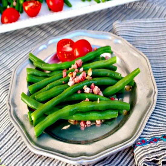 Fresh Green Beans with Prosciutto | by The Foodie Affair