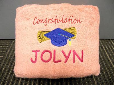Personalized Bath Towel with name embroidery