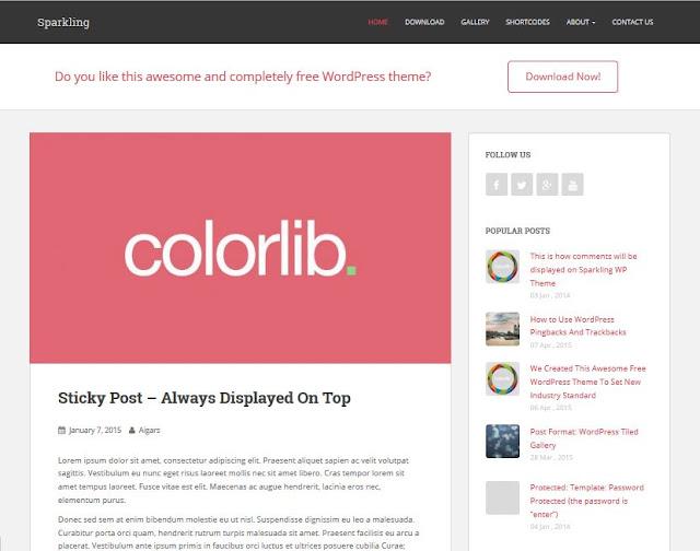WordPress Ücretsiz Kişisel Blog Temaları